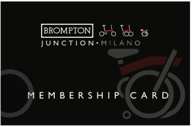 Merbership Card Brompton Milano